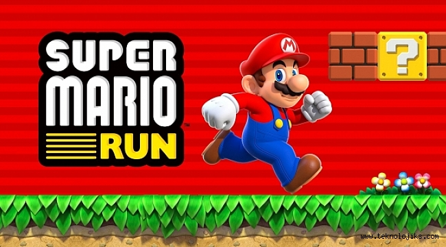 Super Mario Run Apple Store'lara Geliyor