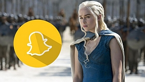 Game of Thrones Snapchat'i İşgal Etti!